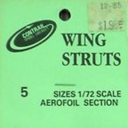 Contrail wing struts