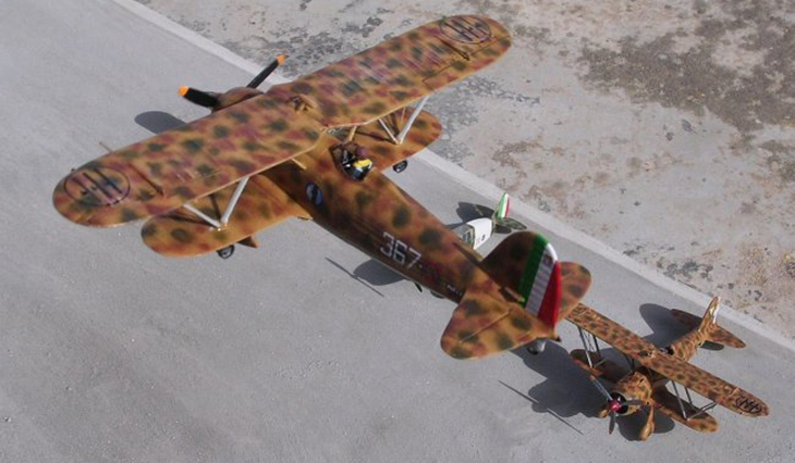 Fiat Cr.42 Falco - Pavla Models 1/72 - Modello e Foto di Carmel J. Attard