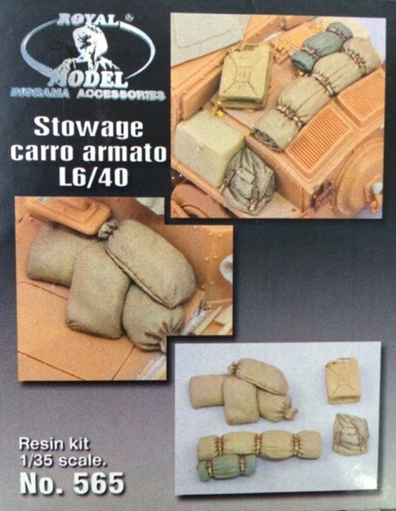 Royal Model – Carro armato L6/40 – N. 565