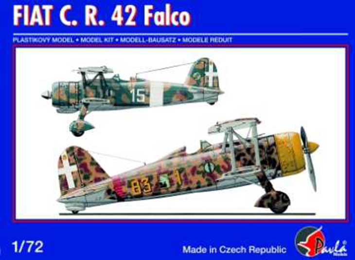 Fiat Cr.42 Falco – Pavla Models – N. 72048 – Scala 1:72
