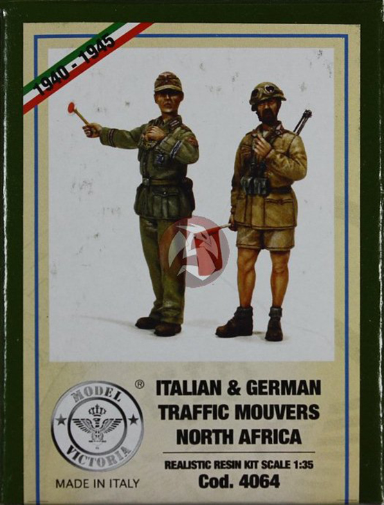 Italian & German Traffic Mouvers - North Africa - Model Victoria - Scala 1:35 Cod.4064