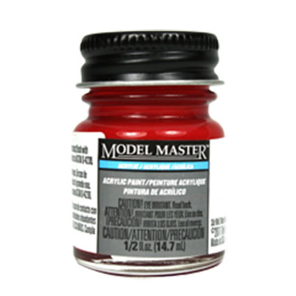 Model Master - Transparent Red - Gloss
