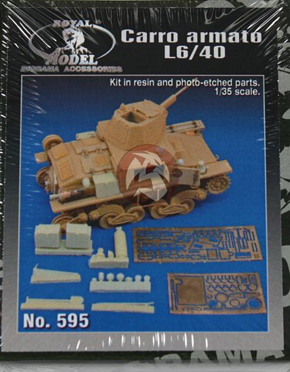 Royal Model – Carro armato L6/40 – N. 595
