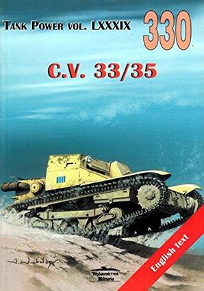 Tank Power Vol. LXXXIX - No. 330: C.V. 33/35 - Wydawnictwo Militaria