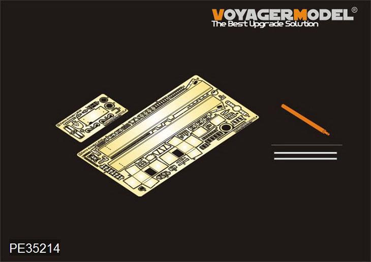Dettagli e fotoincisioni della Voyager Model – Carro armato L6/40 – PE35214
