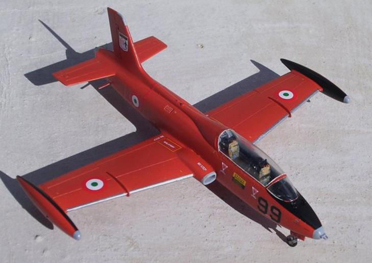 Aermacchi MB.326 - Italeri - 1/72 - Modello e foto di Carmel J Attard