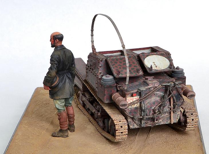 Carro Armato Fiat-Ansaldo CV35 - Bronco Models - scala 1/35 - Modello e Foto di Jack Geratic