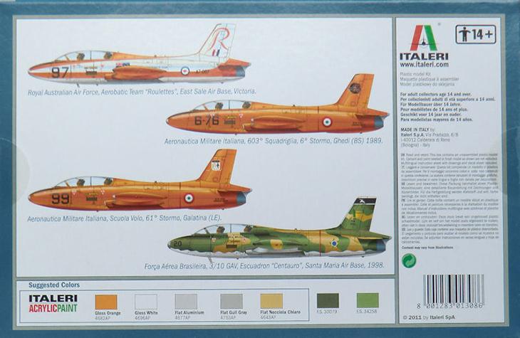 Aermacchi MB.326 - Italeri - 1/72