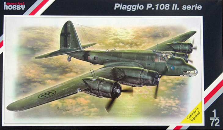 Special Hobby – Piaggio P.108b serie II – N. SH72035 – Scala 1:72