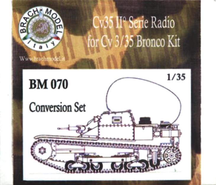 Brach Model - 1:35 - CV35 II°serie Radio - Set di conversione per il Kit Bronco CV35