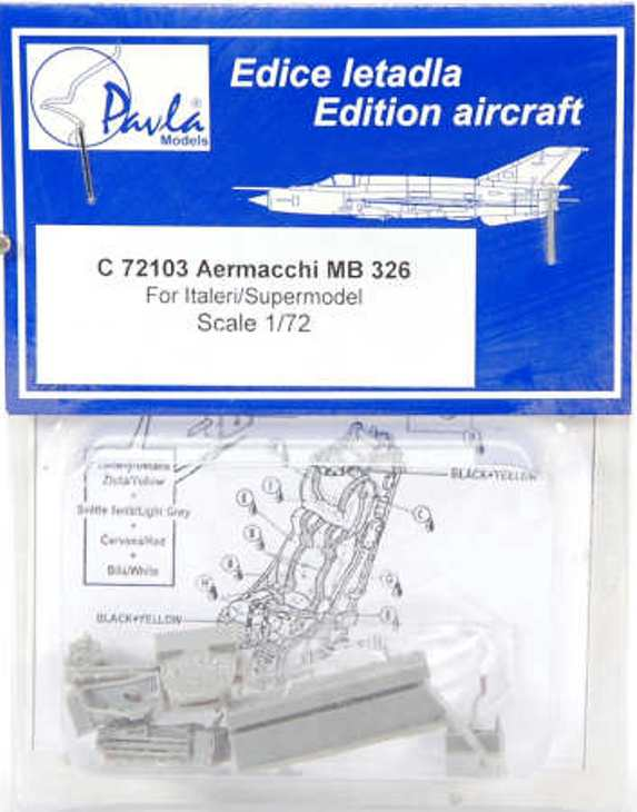 Pavla Models - C 72 103 - Aermacchi MB.326 - 1/72 - For Italeri/Supermodel