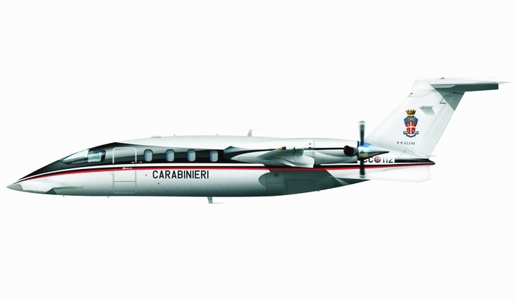 Piaggio P-180 Avanti - Ragruppamento Aeromobili Carabinieri