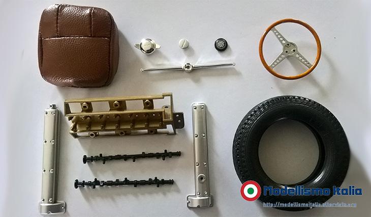 """E-type del 1963 - scala 1:8 - De Agostini """"Costruisci la tua Jaguar E-type"""""""