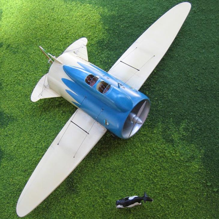 Caproni Stipa - Autocostruito - 1/72 - Modello e Foto di Gabriel Stern