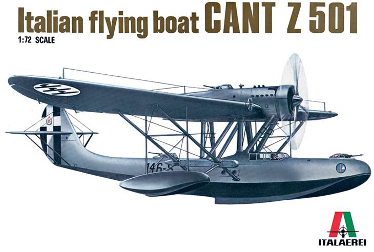 CANT Z.501 – Italeri – 1/72