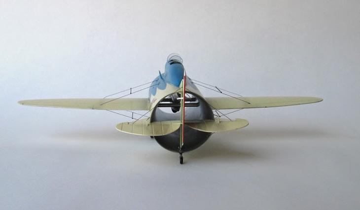 Caproni Stipa - Autocostruito - 1/72 - Modello e Foto di Gabriel