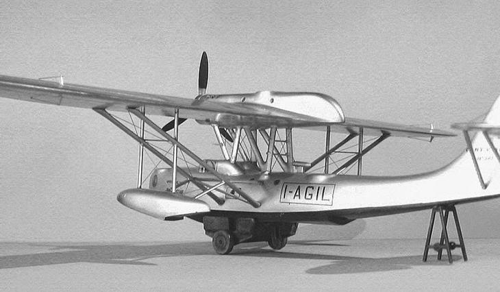 CANT Z.501 - Italeri - 1/72 - Modello e Foto di Gabriel Stern