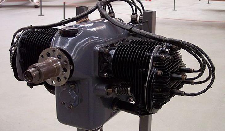 Aeronca bicilindrico ad aria da 35-40 hp