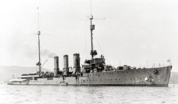 Incrociatore Leggero RN Ancona (con il profilo originale)