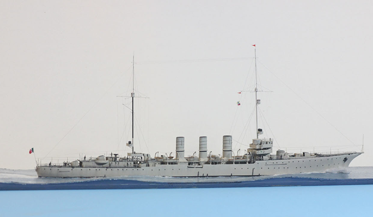 Incrociatore Leggero RN Ancona – HP – 1/700 - Modello e Foto di Jim Baumann