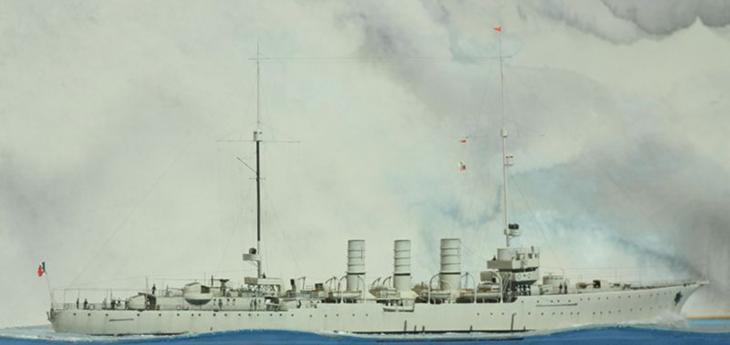 Incrociatore leggero RN Ancona (1/700)